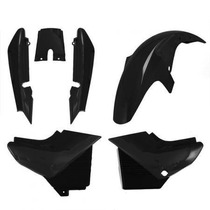 Carenagem Kit Completo Ybr 125 Preto 2002 A 2008