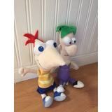 Peluche Phineas Y Ferb El Set Importados Usa.