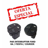 Botao Interruptor Vidro Eletrico Ford Ka Fiesta Courier Par
