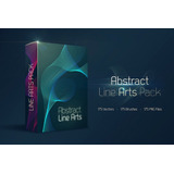 Superpack De Líneas Abstractas Para Illustrator Y Photoshop