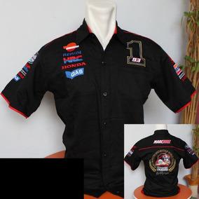 Camisa Marc Marquez Negra Red Bull Moto Gp Champion 2013