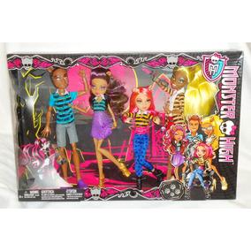 Juguetibox: Monster High Set De Hermanos Lobo