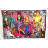Juguetibox: Monster High 4 Pack Hermanos Lobo