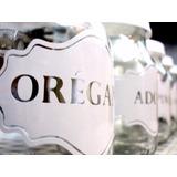 Etiquetas En Vinilo Para Personalizar Tus Frascos Y Botellas