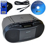 Sony Cd Radio Cassette Recorder Liado Con Alimentación De