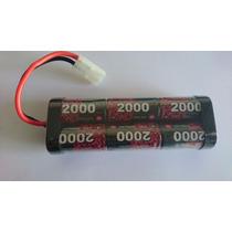Bateria Nimh 7.2v 2000mah Enrich Power Ep 6-cell Tamiya Rc