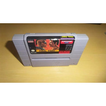 Final Fight Super Nintendo Original Americano