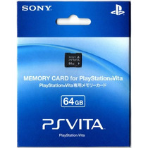 Cartão Memória 64 Gb Original Sony Vita Psvita Memory Card