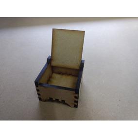 Cajita Souvenir Fibrofacil Mdf Corte Laser Alajero