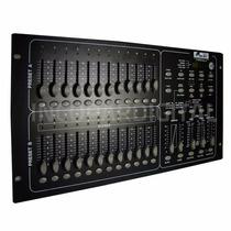 Dmx Cotrolador Iluminacion Gbr Dmx-246 24 Canales Display