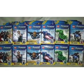 Legos Vengadores Avengers,juguete Armable Hulk, Ironman Luz