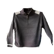 Sweters Unicolores Cuello De Buzo Lexus Fashion