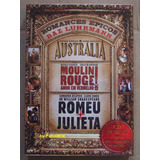 Baz Luhrmann Romances Austrália - Romeu - Moulin Rouge + Cd