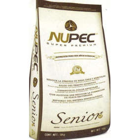 Alimento Nupec Senior 15 Kg. A 12 Msi Con Envio Incluido