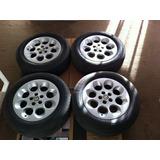 4 Llantas Originales Alfa Romeo + Neumáticos 195/65 R15