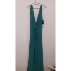Vestido Noche Verde Talla 4 Envio Gratis