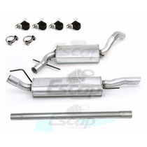 Kit Silencioso Escapamento Golf Glx Gti 1.8 2.0 95 A 98