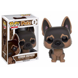 Pastor Alemán German Shepherd 2 Pets Funko Pop
