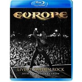 Europe - Live At Sweden Rock - Blu Ray Importado, Lacrado