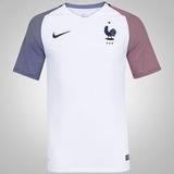 Camisa Da França Nova Seleção Francesa Branca Copa Frete