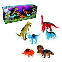 12un Dinossauro Evolucao Com 6 Pecas Mundo De Aventuras