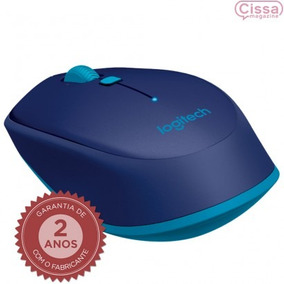 Mouse Bluetooth Logitech M535 1000 Dpi Óptico + Nota Fiscal
