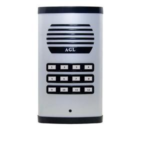 Kit Interfone Coletivo Agl 12 E 6 Pontos Com 18 Monofones