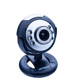 Webcam Nipponic Videolar Vc76p Com 6 Leds E Microfone