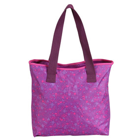 Totebag Violetta Purple Em Poliéster, Tamanho P - Dermiwill