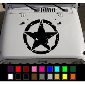 Calcomania Estrella Jeep Vinil De Alta Resistencia V/imagen