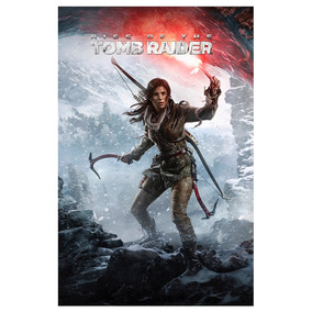 Poster Do Game Rise Of The Tomb Raider   2015