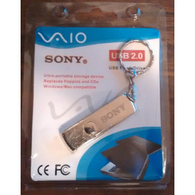 Memoria Usb 64 Gb 2.0 Sony Vaio Metalica Giratorio + Regalo