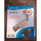 Memoria Usb 64 Gb 2.0 Sony Vaio Metalica Giratorio + Regalo