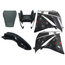 Kit Carenagem Xt660 Preta 2010 2014 C/ Bolha Speed China