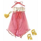 Roupa Fashion Barbie Original Mattel Vestido Rosa Novo R4262
