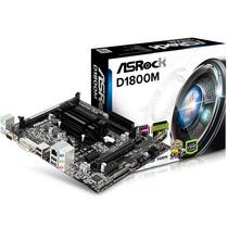 Tarjeta Madre Asrock D1800m Con Procesador Intel Dual Core C