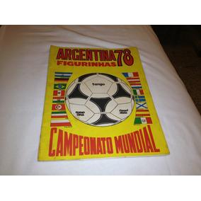 Album De Figurinhas Argentina 78 - Editora Sadira - Completo