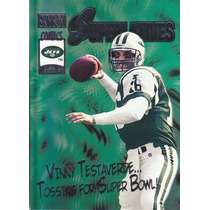 2000 Skybox Superlatives Vinny Testaverde Qb Jets