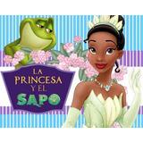 Kit Imprimible Candy Bar Golosinas Princesa Y El Sapo Tiana