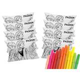 Kit C/ 10 Almofadas Personalizadas P/ Colorir Com Canetinhas
