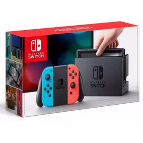 Nintendo Switch Neon Blue & Neon Red Joy-con Nuevo Y Sellado