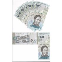 Billete Venezuela 500 Bolivares 2016 (2017) Sin Circular