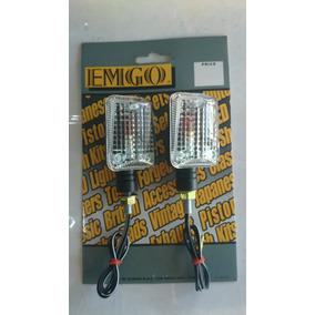 Direccionales Universales Foco Cuadro Emgo Moto