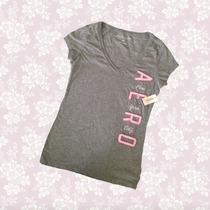 Blusa, Camiseta Marca Aeropostal Talla M 100% Nuevo