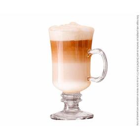 Copa Tarro Cafe Capuchino Irlandes De 240 Ml X 6 Pzs