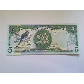 Trinidad Trinidade E Tobago 5 Dollars 2006 P. 47 - Fe