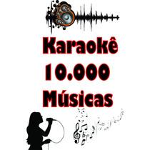 Kit Karaokê Videoke +10.000 Músicas - 2017 - Frete Grátis