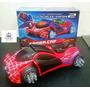 Carrinho Homem Aranha Marvel Vingadores Bate E Volta Som Luz