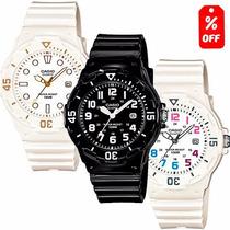 Reloj Dama Casio Lrw200 Caucho Acabado Brillante - Cfmx