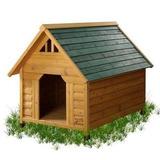 Casa Para Perro Mascotas Squeak Alpine Lodge Dog House Gran